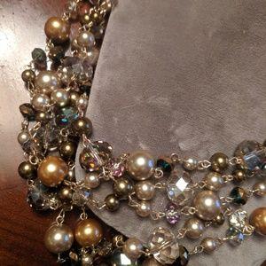 Aldo multicolor bead necklace